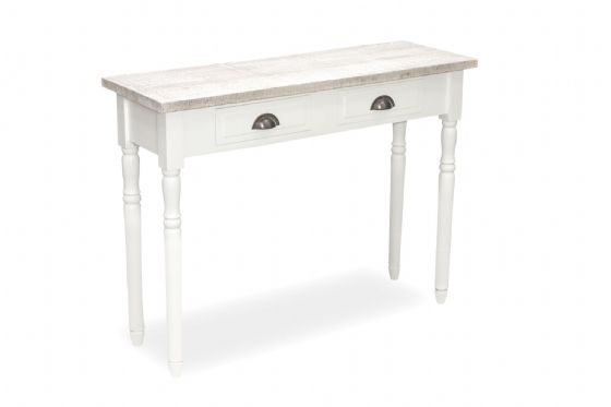 Fowey Vanity Table / Console - White